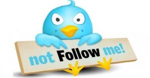 scoprire chi non ti segue su twitter