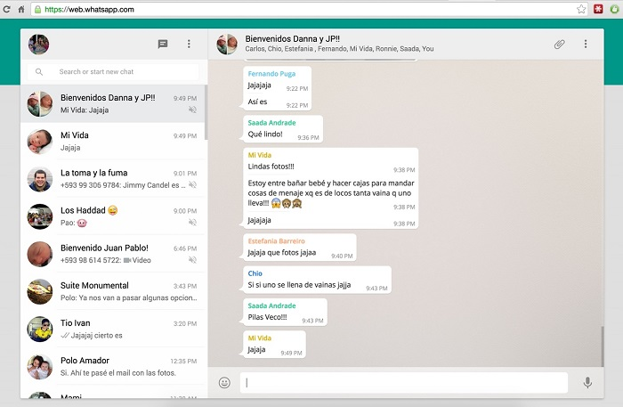 whatsapp web per pc