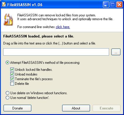 cancellare file incancellabili