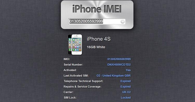 come controllare imei iphone 5