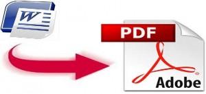 Come convertire Word in PDF