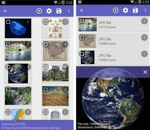 recuperare foto smartphone android