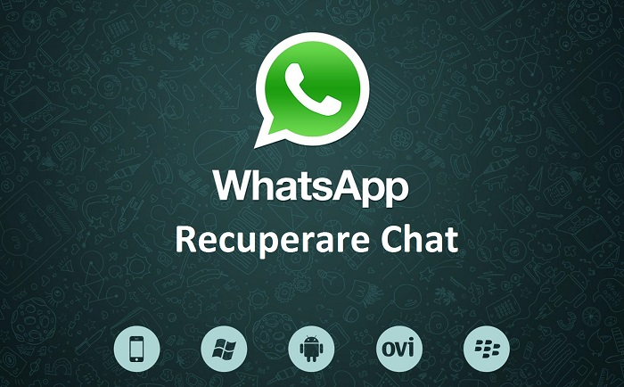 Recuperare Chat WhatsApp Android iOS