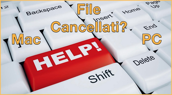 Recuperare file cancellati PC