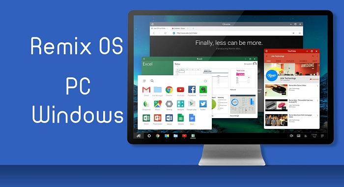 Installare Android su PC grazie a Remix OS
