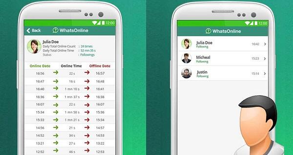 Whatsonline: Controllare Contatti su WhatsApp