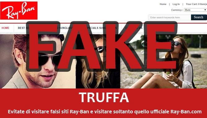Truffa RayBan: Attenzione su Facebook!