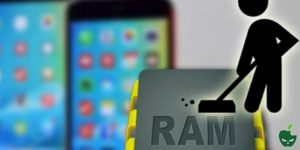 liberare ram iphone