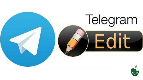 modificare messaggi telegram
