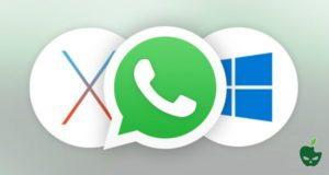 Whatsapp per PC Windows e MAC OS X