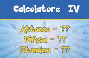 Calcolatore IV per Pokemon GO