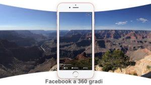 foto 360 gradi facebook
