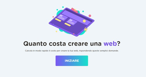Quanto costa un sito web for Quanto costa abbaiare un mantello