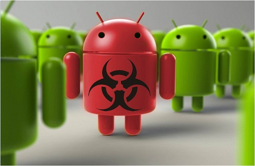 rimuovere virus android