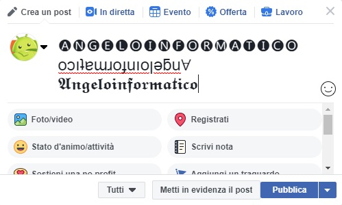 Font Facebook: Come modificarlo