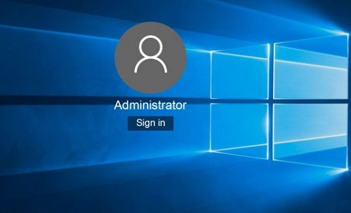 account amministratore windows 10