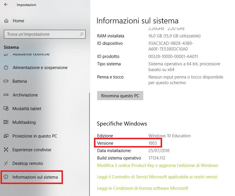 riattivare windows 10 dopo cambio hardware