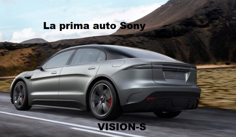 Prima auto Sony presentata al CES 2020