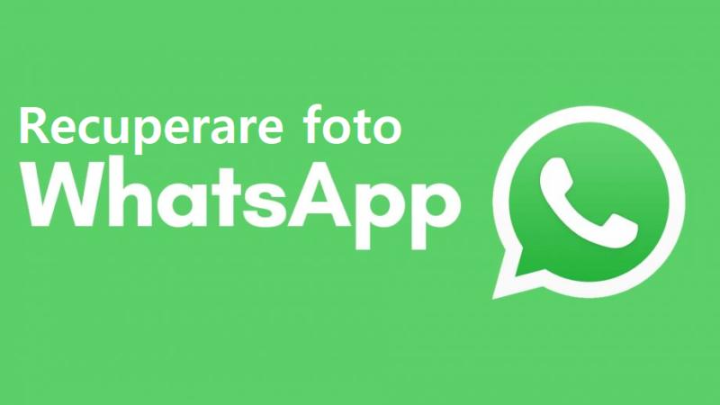 Recuperare foto Whatsapp