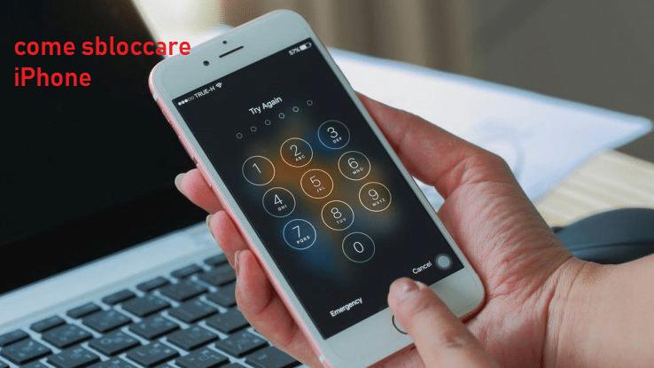 Come sbloccare iPhone trovato in strada