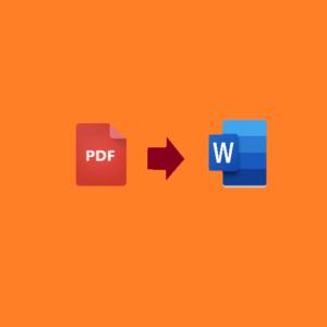 Trasformare PDF in Word, ecco come fare