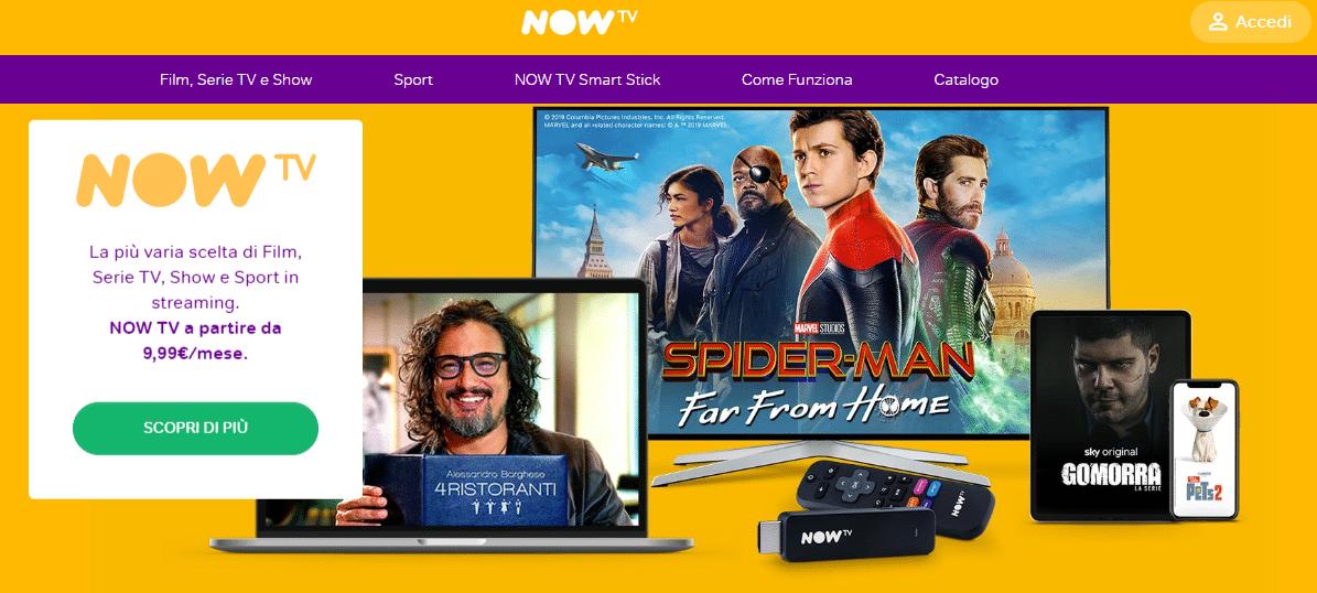 NowTV gratis per sempre, ecco come aderire