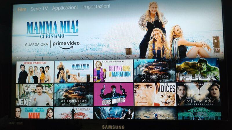 Configurare Amazon Fire TV Stick