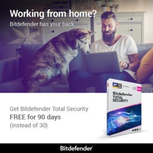 Miglior antivirus: prova Bitdefender antivirus plus 2020