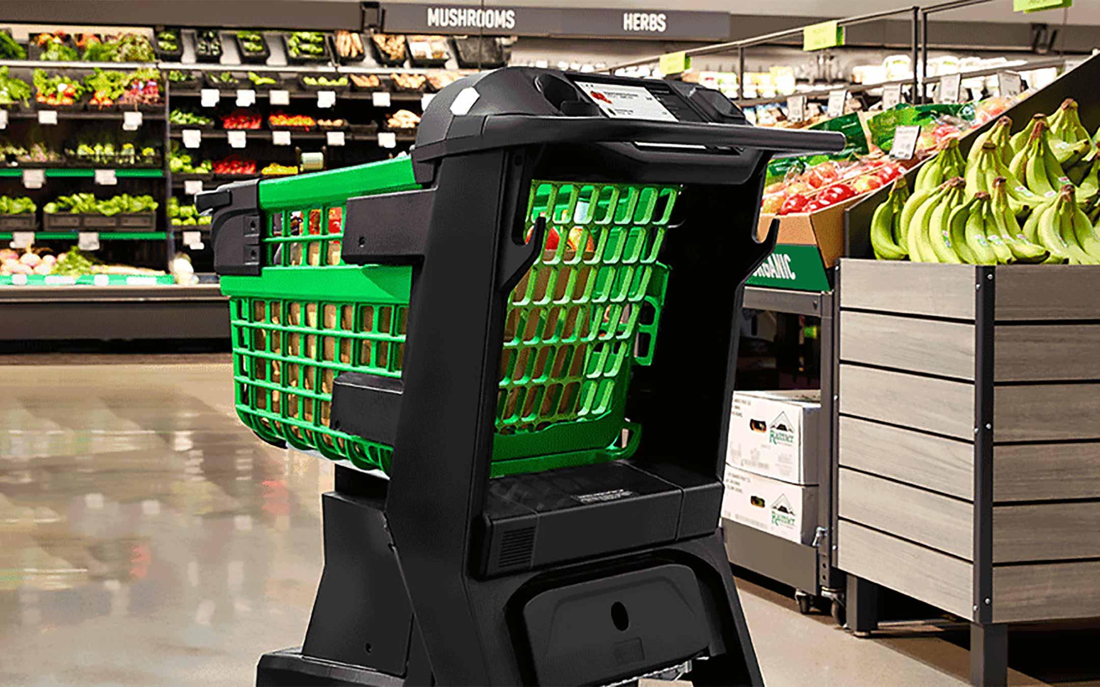 Dash Cart, salti la fila alla cassa del supermercato