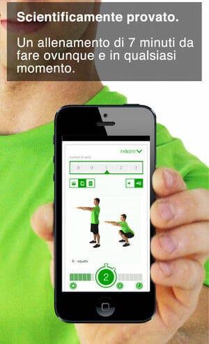 Recensione App: 7 minuti allenamenti